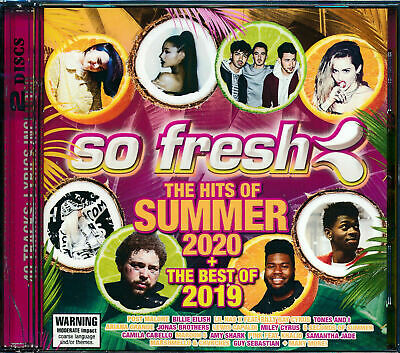 So Fresh Hits of Summer 2020 + Best of 2019 2 CD NEW Tones & I Post Malone