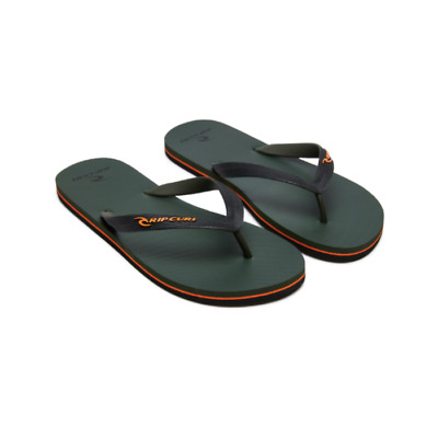 Mens Rip Curl MC Thong Black//Black//Blue Sandal Flip Flop