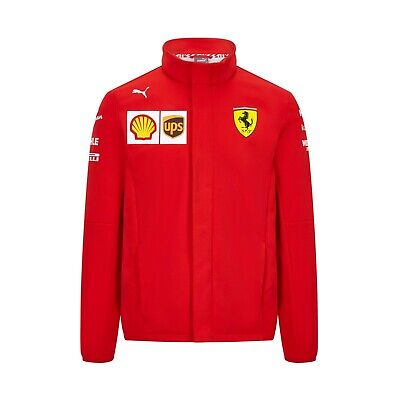 NEW 2020 Scuderia FERRARI F1 Team SOFT SHELL Jacket Mens - OFFICIAL