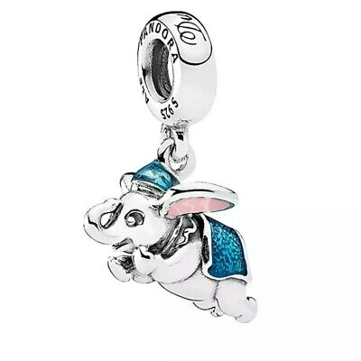 Disney Flying Dumbo Pandora Dangle Charm Authentic Sterling Silver S925