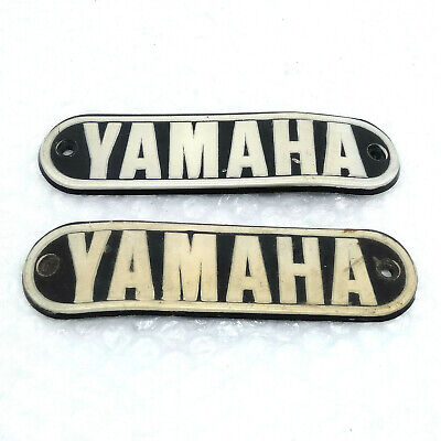 Pair NOS Genuine OEM Yamaha RS 100 LS2 LS3 HS2 HX90 Bottom Front Fork Outer Tube