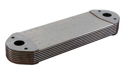 Oil Cooler for Volvo Trucks VHN, VN, D12C, and D12D Replaces 8130186
