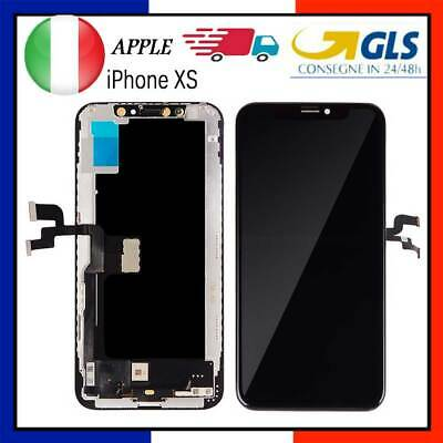 Oled Schermo Display Per Apple Iphone Xs Vetro Touch Screen Lcdnero Digitizer