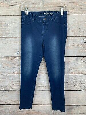 Cat /& Jack Jeans Jeggings Size 14P Super Stretch Patch Patchwork New NWT