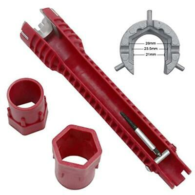 Faucet And Sink Installer Tool 8-In-1 Multifunctional Faucet Wrench Pipe Tools