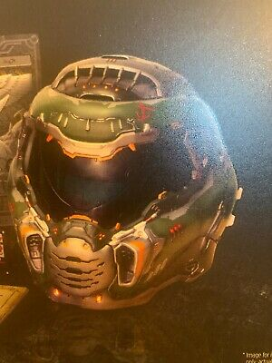 HELMET ONLY from DOOM ETERNAL Collectors Edition Bethesda NEW - FREE SHIPPING!!