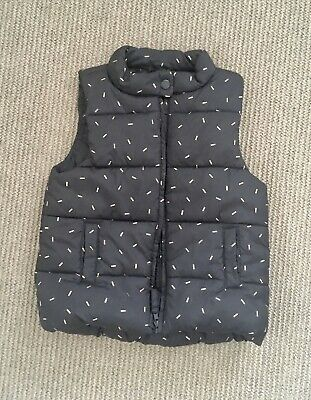 Cotton On Girls Winter Vest, Size 4