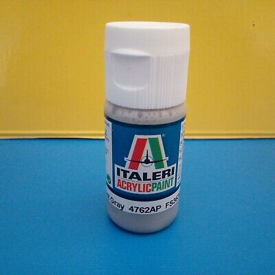Colori Modellismo ITALERI 20 ml Acrilico Flat Light Ghost Gray 4762AP FS36300