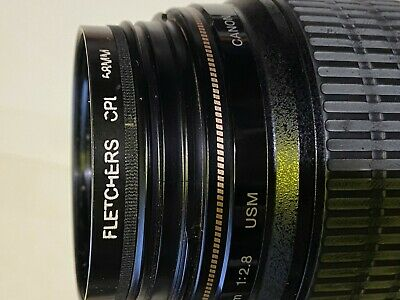 Canon EF 100mm f/2.8 Macro USM lens With CPL