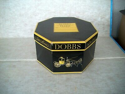 Vintage Dobbs Fifth Avenue Hat Box With Protector