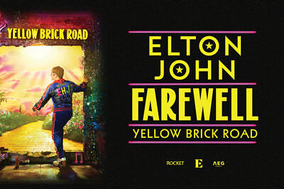 Entrada ticket Elton John Farewell Yellow Brick Road Barcelona Pista SP1