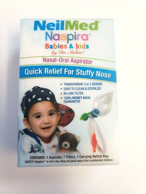 NielMed Naspira Babies & Kids Nasal Oral Aspirator Quick Relief For Stuffy Nose