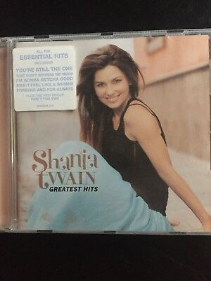 Shania Twain Greatest Hits Used 21 Track Best Of Cd Country Pop 90s 00s
