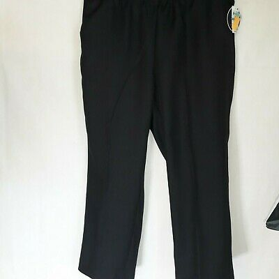 Karen Scott Womens Navy Comfort Waist Pull On Trouser Pants Plus WP-074