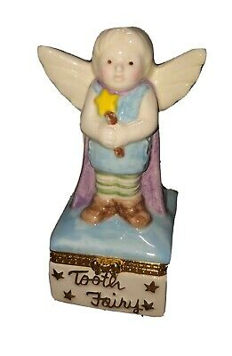 Trinket Box- Prince Tooth Fairy Box (MUD PIE). Always Lived In Box