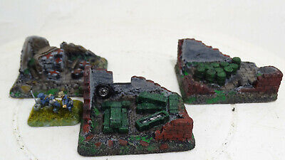 15mm Wargames. Hand Cast Resin Objective markers. Flames Of War.