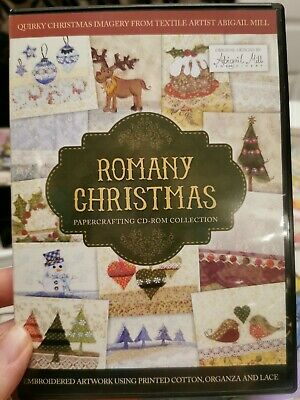 Tweedies /& Romany Christmas Papercrafting C.D Roms Crafter/'s Companion
