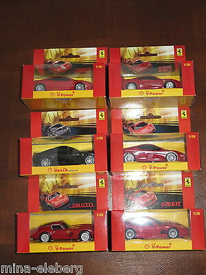 mit Sound Hot Wheels 1:38 Shell Ferrari 575 GTC in rot OVP