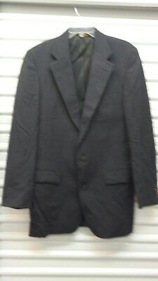 Mens Jacket Blazer Coat Tom James SZ 40R 2B Investment Collection EUC
