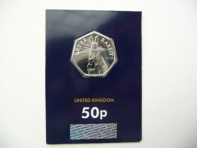 UK Royal Mint 2019 Peter Rabbit 50p Fifty Pence Coin Certified BU Change Checker