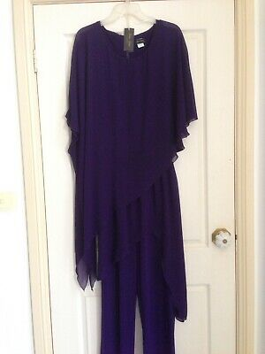 Ladies formal occasion evening wear mother of the bride goom wedding Sz Size 16