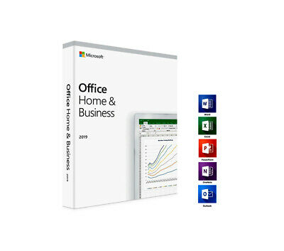 Microsoft Office 2019 Home and Business License - NO DISC