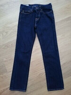 Boys Dark Blue Jeans By Abercrombie & Fitch Age 12-13 Years