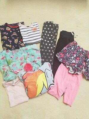 BUNDLE OF GIRLS CLOTHING AGE 4-5 YEARS Good Condition