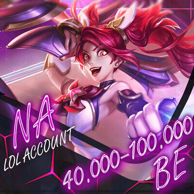 🗽 NA League Of Legends LOL Account 30.000 - 70.000 BE Unranked Smurf Level 30