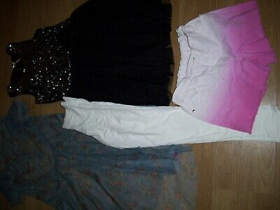 Girls summer bundle of clothing.Age 11-12 years.F&F,Next,M&S.Free Postage!