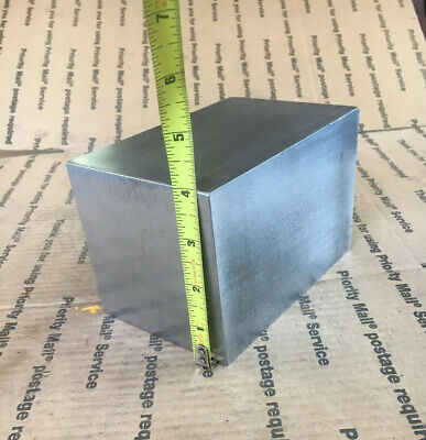 "4"" Steel Square Bar Blacksmith Machining Cold Rolled Cube 6"" Long 4.00 X 4.00"