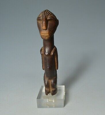 African tribal Fine old Songe Miniature Figure Congo Art Africain