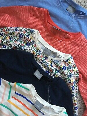 3-6 Months Girls NEXT Tops Bundle X5 Brand New With Tags