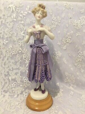 "Reproduction Porcelain Figurine ""Miss Lucy"" approx 20 cms tall"
