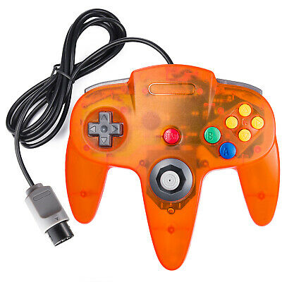 N64 Wired Retro Classic Gamepad Controller Joystick Console For Nintendo 64