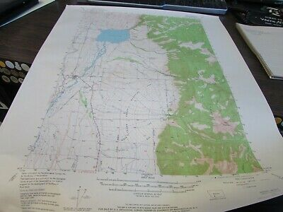 Ennis Lake - Montana  - Topographic Map U.s. Geological Survey 1964