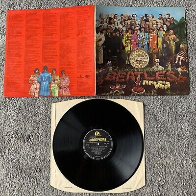 The Beatles - Sgt Peppers Lonely Hearts Club Band (UK Vinyl LP, 1967) GAT, EX/EX