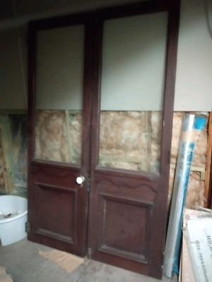 Huge doors from  railway station gorgeous for a big lounge room . In Blayney NSW