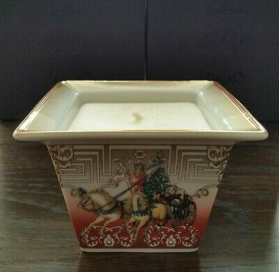 Versace Christmas Chariot Candle Holder  Boxed.