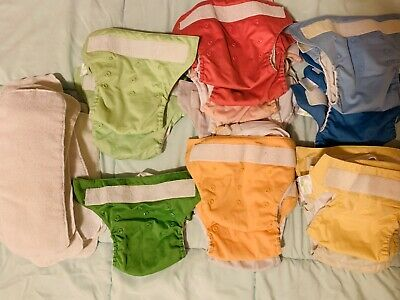 BumGenius Pocket Diapers Lot With Inserts