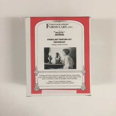 Photographers' Formulary Printing-Out Process Kit - Salted Plain Paper Kit