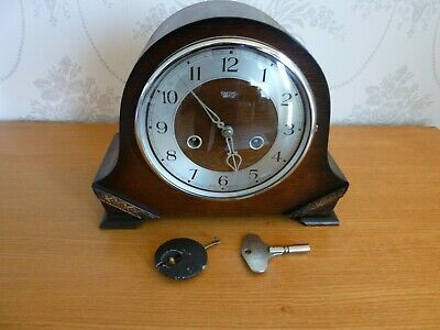 Smiths Enfield Striking 8 Day Mantle Clock