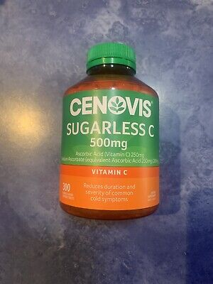 Cenovis Sugarless Vitamin C 500mg Chewable Tablets 300 Stock Will Ship April 1