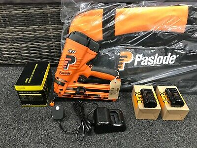 Paslode Im65 Angled Lithium Ion 2Nd Fix Bradder Tool 971/With New Paslode Bag