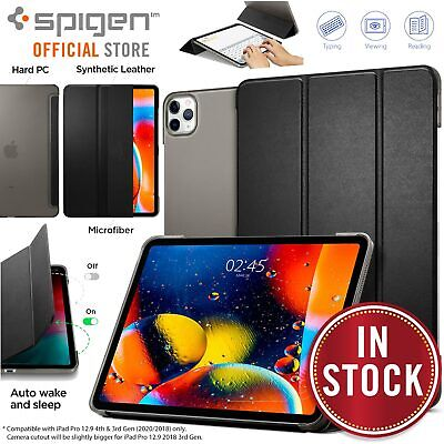 SPIGEN Smart Fold Autowake Stand Cover for Apple iPad Pro 12.9 2020 4th Gen Case