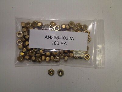 AN365-524A NUTS 50 EACH NEW