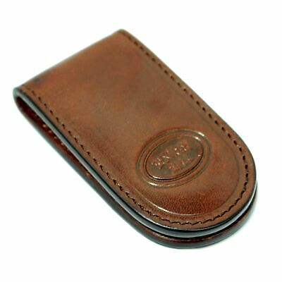 Money clip for men The Bridge Story uomo 09400801 clamp wallet in brown leather