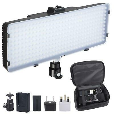 LED Light Panel 320 LED Dimmable Video Light