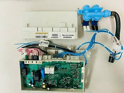 Whirlpool Control Board AAWCB-002 Inlet Valve 05541-00 Actuator 05561-00 CB722