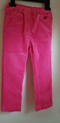 Matalan Girls Pink Cord Trousers - Age 3-4 Years - Excellent Condition-...